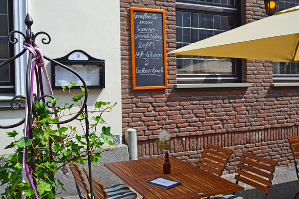 Stiefel-Jürgens in Beckum – Biergarten