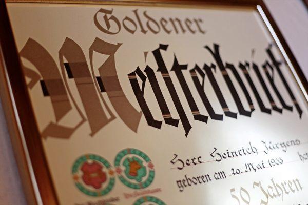Stiefel-Jürgens in Beckum – Meisterbrief